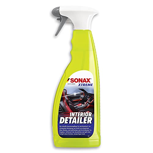 SONAX XTREME Interior Detailer (750 ml) reinigt & pflegt schnell den kompletten Fahrzeuginnenraum, staubabweisend, silikonfrei, anti-statisch, angenehmer Duft | Art-Nr. 02204000