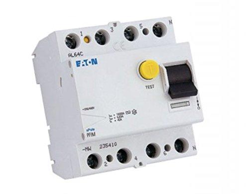Eaton PFIM della 40/4/003G di corrente di guasto MW protezione interruttore 4p 40a 30ma