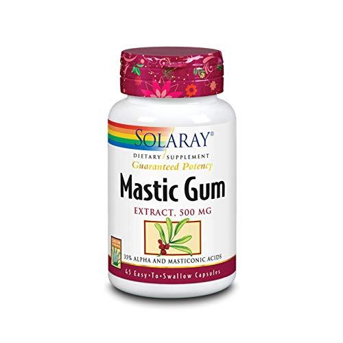 Solaray Mastic Gum Extract 500 mg | 45 Count