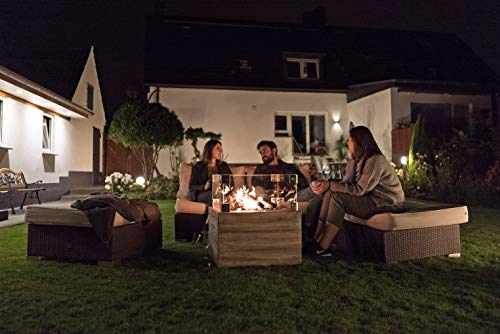 Clifton Glasaufsatz für Gaskamin Heizpilz Feuerstelle Garten Außenkamin; - 3