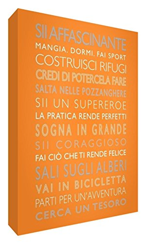 Feel Good Art 60 21 x 15 x 2cm Orange