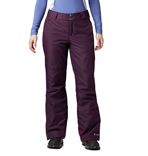 Columbia Women's Bugaboo Omni-Heat Pant, Black Cherry, Large Regular