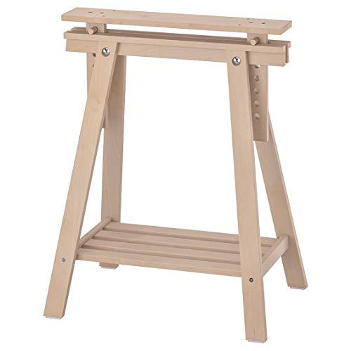 "IKEA Finnvard Camilla con estante de abedul 303.457.17 Tamaño 27 1/2x28/36 5/8"""