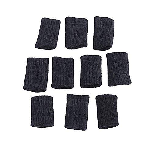 Fingerschutz Fingerband Fingerbandagen Universalgröße Finger Ärmel Unterstützung Schutz Volleyball Fußball