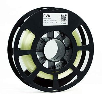 KODAK PVA 3D Printer Filament, 1.75 mm +/- 0.05 mm, 350g (0.8lbs) Spool, Natural