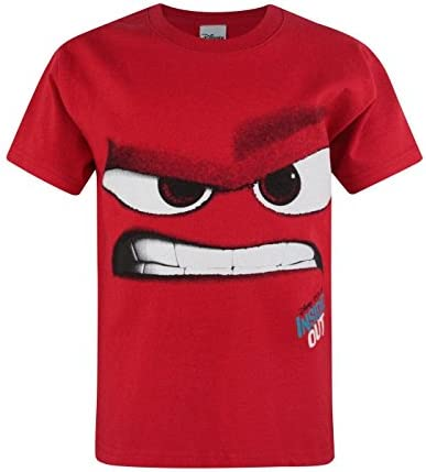 Official Disney Inside Out Anger Kid's T-Shirt