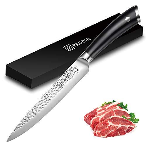 PAUDIN Carving Knife, Sharp 8 Inch Slicing Knife, Premium...
