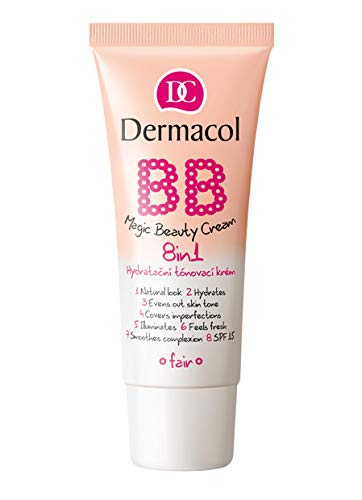 3 x Dermacol BB Magic Beauty Cream 8 in 1 SPF15 30ml - Sand