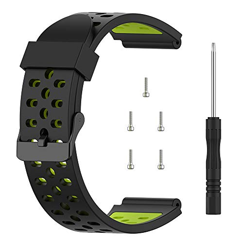 TUSITA Band Compatible with Bushnell Neo Ion 1 , Ion 2 , Excel - Silicone Replacement Strap Bracelet Wristband - Golf GPS Smart Watch Accessories