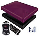 Free Flow WATERBED Mattress/Liner/Digital Heater/Fill Drain/Conditioner KIT (California King 72x84 1FFGT1)