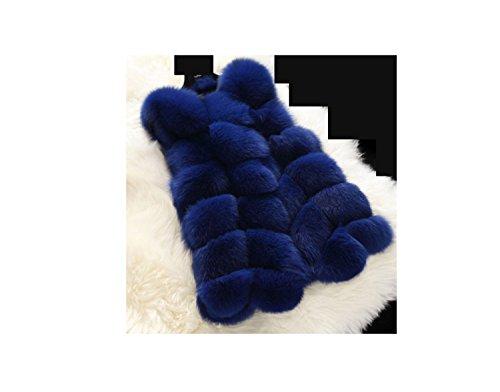 Huaishu Dames Mouwloze Shrug Faux Bont Casual Vest Jas Top Bovenwerk Breien Vest Jas