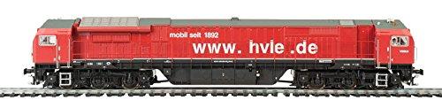Mehano 58931 HVLE New red-DC Diesellok Blue Tiger 2, Orange und Silber, H0