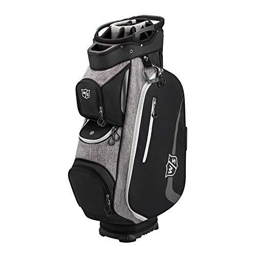 Wilson Xtra Cart Golf Bag - Black/Grey/White (WGB4350WH)