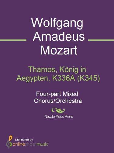 Thamos, König in Aegypten, K336A (K345) (English Edition)