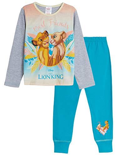 Disney Der König der Löwen Jungen Schlafanzug Gr. 9-10 Jahre, Simba & Nala - Best Friends