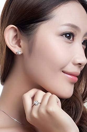 ZheJia Zircon Ear Stud Korea Style Sweet Temperament Ear Cuff Wrap Best Friend Gift Jewelry 1 Pcs Ear Bone Clip Cool Crystal Gecko Style Earring Purple plum
