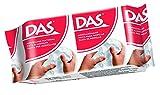 DAS 387200 Pasta para modelar Blanco compuesto para cerámica y modelaje - Compuestos para cerámica y modelaje (Pasta para modelar, Blanco, 24 pieza(s), 1 Colores, 150 g) , color/modelo surtido