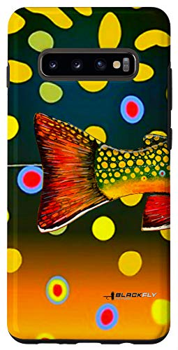 Galaxy S10+ Brook Trout Fly Fishing Trout Skin Phone Case By Black Fly Case