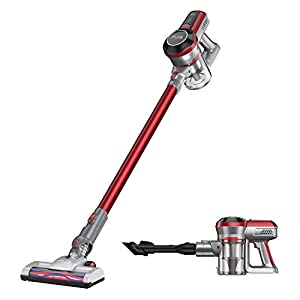 Muzili Cordless Vacuum Cleaner 2-in-1 Handheld Stick Vacuum 160 W Strong Suction and Efficient Filtration System Lightweight Handheld Upright Vacuum Cleaner for Hard Floor Carpet Pet Hair