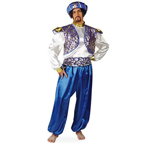 FRIES NEU Herren-Kostüm Sultan mit Turban, 3-TLG. Gr. L