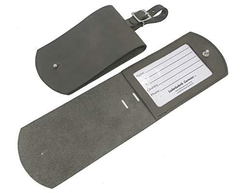 Lederfabrik Garnier - Etiqueta para equipaje Gris gris