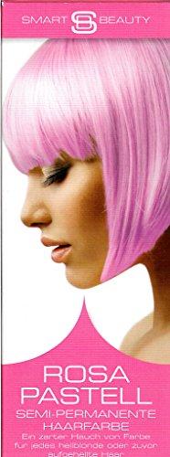 Smart Beauty ROSA PASTELL Semi-permanente Haarfarbe 3x Packungen á 50 ml