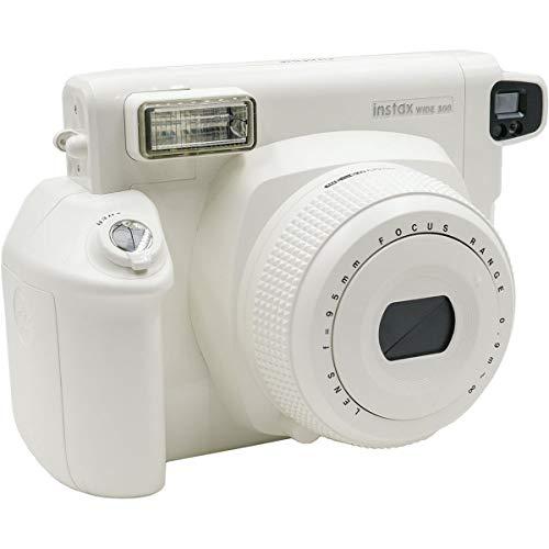 Fujifilm INSTAX Wide 300 Instant Film Camera, White