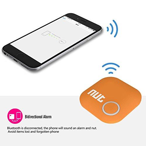 Smart tag Nut 2tracciatore Bluetooth anti-perdite, trova chiavi, portafoglio, cane. Localizzatore con allarme e GPS per iOS/ iPhone/ iPod/ iPad/ Android