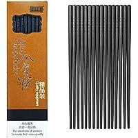 Jsdoin 10-Pairs Reusable Fiberglass Chopsticks