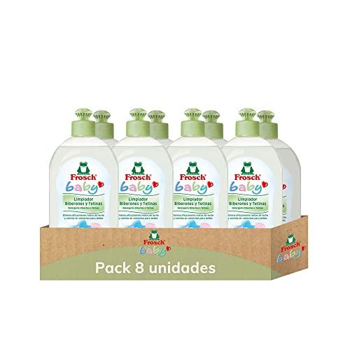 Frosch Limpiador De Biberones Y Tetinas Baby Ecológicox 8 Ud, Neutro