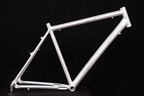 "28\"" Zoll Alu Fahrrad Rahmen Herren Trekking City Bike V-Brake Ketten Schaltung Rh 55cm roh unlackiert"