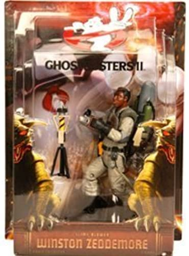 Mattel Ghostbusters Exclusive 6 Inch Action Figure Winston with Slime Blower by Mattel Toys TOY (English Manual)