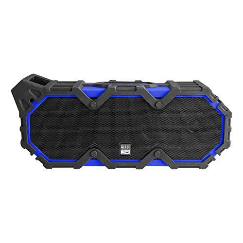 Altec Lansing LifeJacket XL Portable Wireless Waterproof Floatable Bluetooth Speaker 100 ft Wireless Range Stereo Pairing, Cobalt Blue (Certified Refurbished)