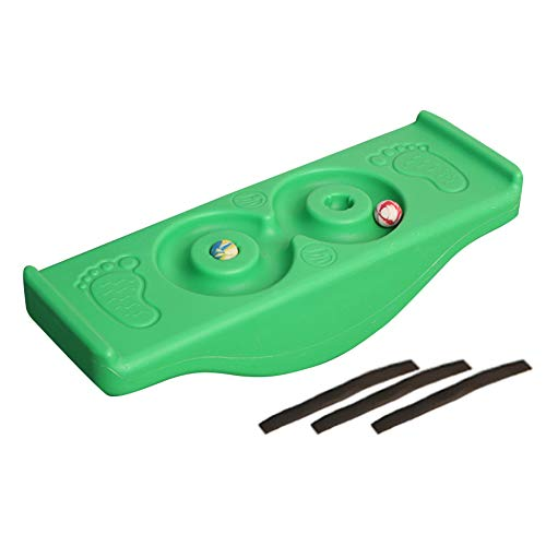 Namya Balance-Board für Kinder, Schaukelwippe, Balance-Board, Wippe, Fitness, sensorisches Trainingsgerät, Kinderspielzeug, nicht null, grün, Free Size