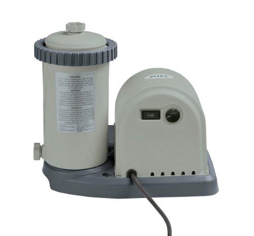 Intex Krystal Clear Cartridge Filter Pump - Pool Kartuschenfilteranlage - 2500 L/H