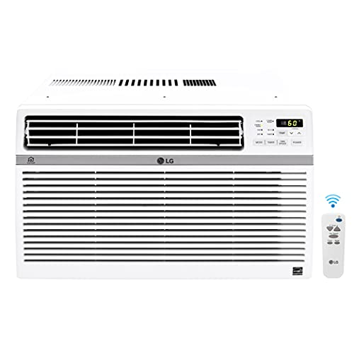 LG LW8017ERSM Smart Window Air Conditioner (Wi-Fi), 8,000...