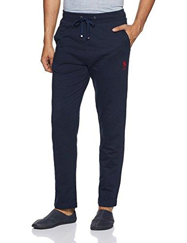 U.S. Polo Assn. Men's Cotton Pyjama Bottom (I606-195-PL_Navy_Medium)