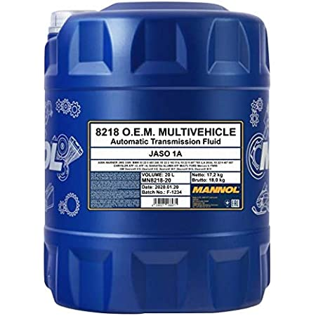 1 X 20l Mannol Atf Multivehicle Jws 3309 Automatic Transmission Oil Mb 236 9 Auto