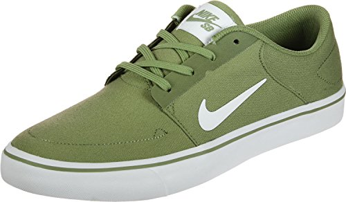 Nike SB Portmore Canvas Herren Trainers 723874 Sneakers Schuhe (UK 6 US 7 EU 40, Palm Green White 311)