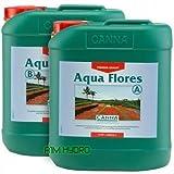 Canna Flores 5 litros 5L a + Aqua B altivez nutrientes vegetales hidropónicos