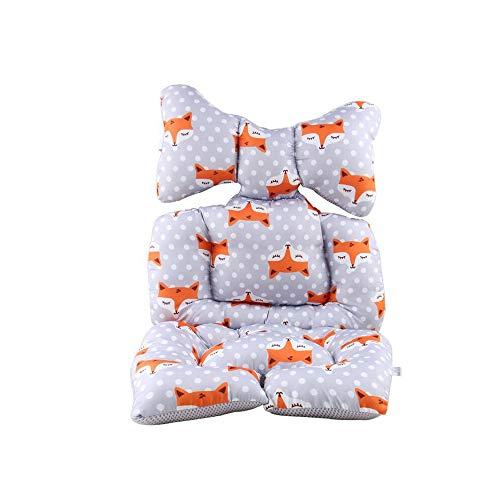 G-Tree del bebé cochecito de bebé del asiento del amortiguador del cojín del asiento Trona almohadilla de algodón cojín para asiento de coche y cochecito de algodón caliente espesado