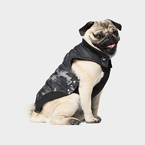 Canada Pooch Cp01741 Summit Gilet Stretch Anthracite/Camouflage Taille 22