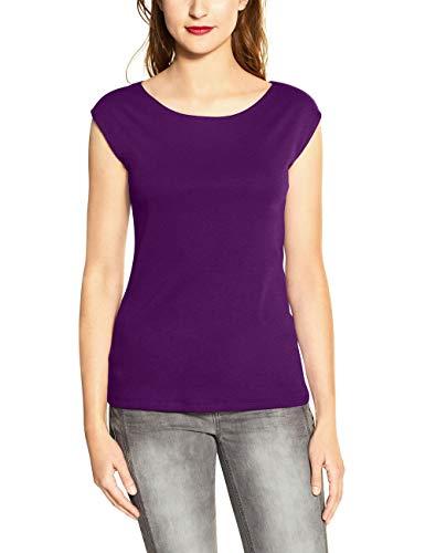 Street One Damen Ada T-Shirt, Fairy Violet, 38