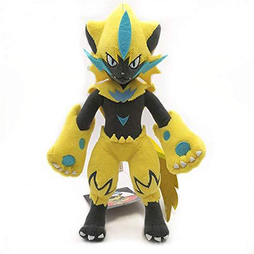 Original 30Cm Pokemon Zeraora Muñecos De Peluche Juguetes para Mascotas Muñecos Elfos Dibujos Animados Lindo Anime Muñeco De Peluche Suave Regalos para Niños