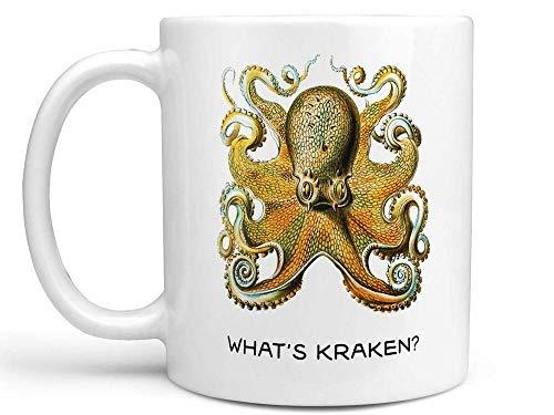 Keramik-Kaffeetasse / Teetasse mit Aufschrift