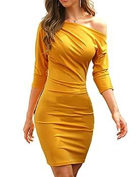 Best skew neck dress Reviews