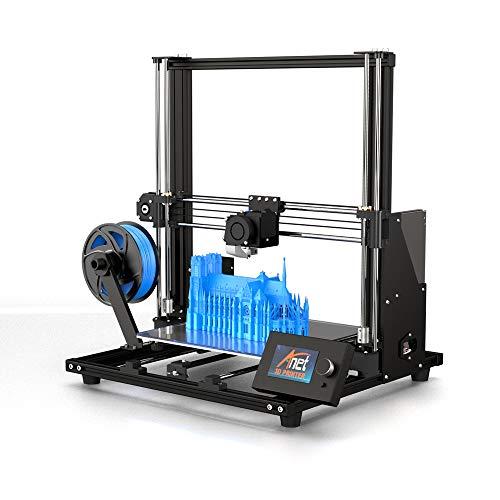 Anet A8 Plus DIY Stampante 3D fai da te 300 x 300 x 350 mm Telaio in lega di alluminio in formato grande stampa (A8 Plus pieno fai da te)