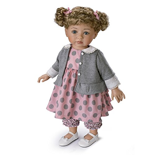 The Ashton-Drake Galleries Mayra Garza Poseable Child Doll with Vinyl Skin and Hold That Pose Armature