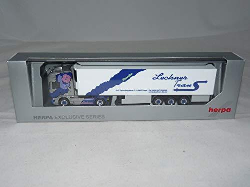herpa 941266 Scania R TL Kühlkoffer-Sattelzug Lechner Trans / Pink Lady 1:87 NEU + OVP