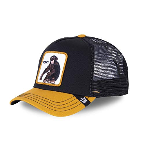 Goorin Bros. Gorra de béisbol Monkey negro y amarillo Negro Talla única